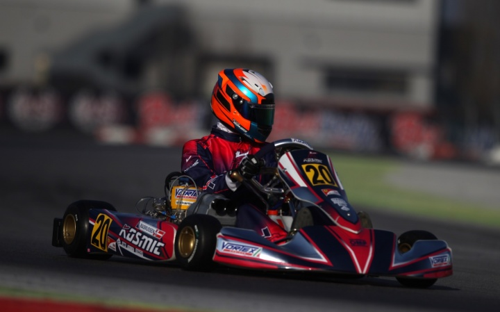 22nd WINTER CUP. KOSMIC KART WITH THE FULL SQUAD