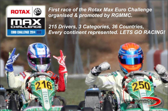Rotax Euro opener Live now from Genk