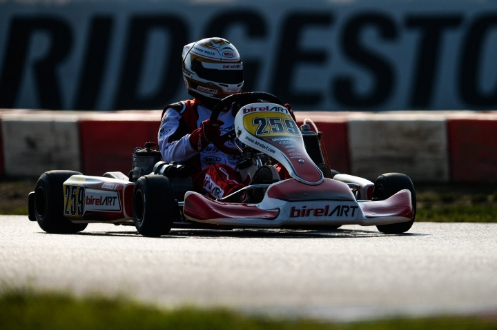 Coluccio and Birel ART confirm their World podium
