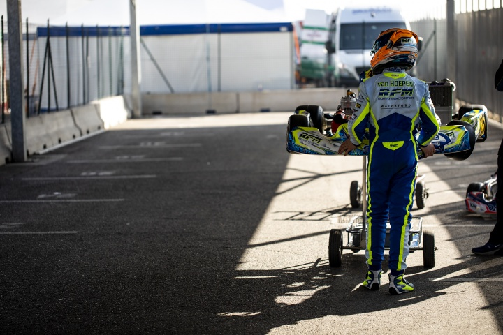 Laurens van Hoepen ready to get back on track in the WSK Euro Series