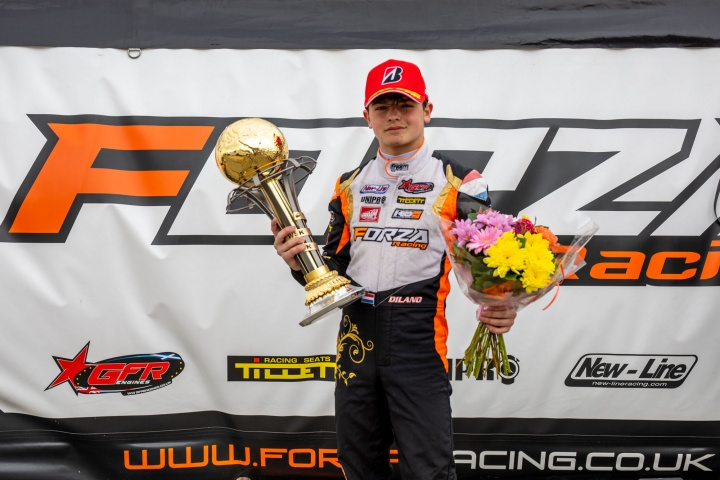 Podium for the team in Angerville in the WSK Euro Series