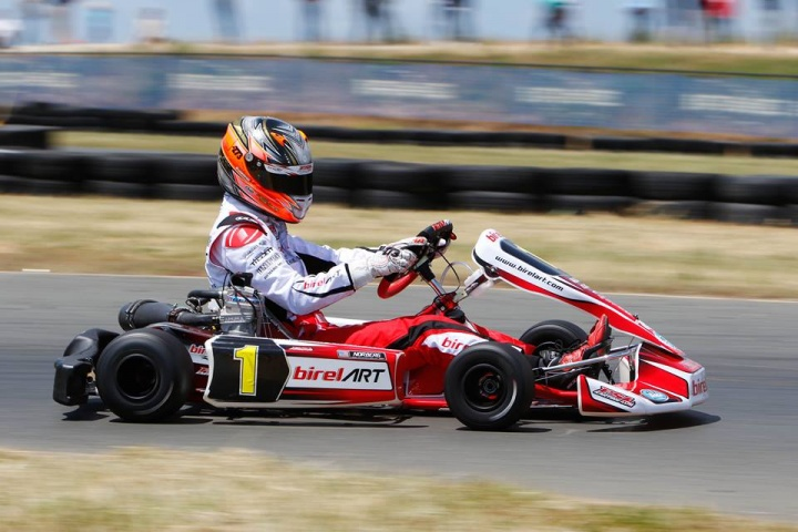 Birel ART controls the pace in Palm Beach