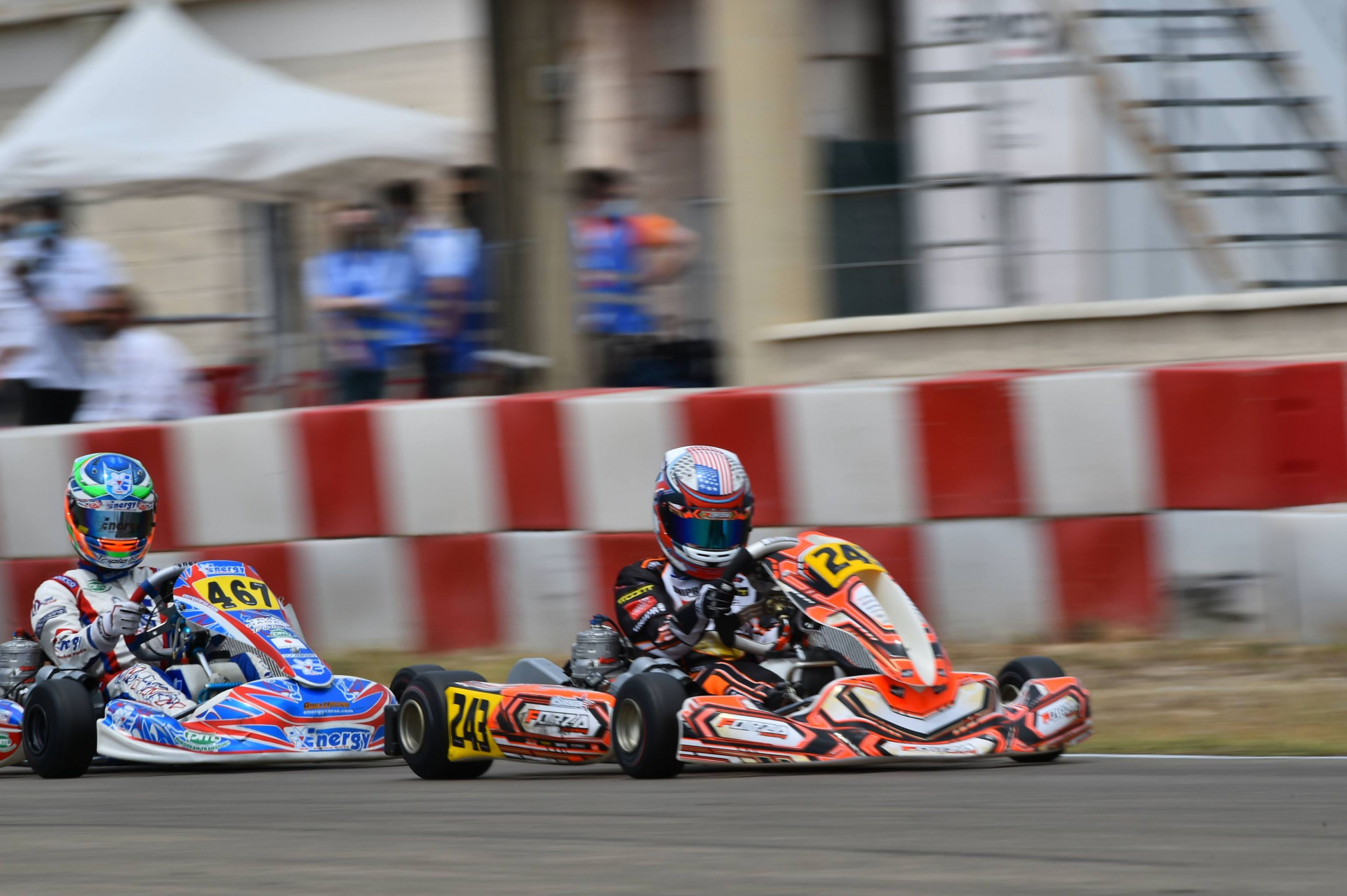 Top ten and pole position at Zuera for Kai Sorensen