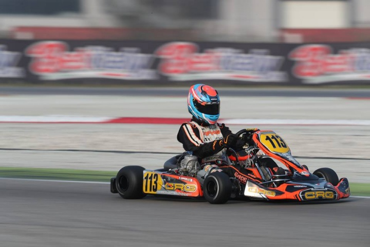 CRG, strong ut in Adria at the WSK Champions Cup