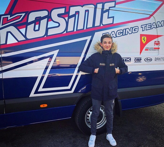 Hadrien David with Kosmic for 2018