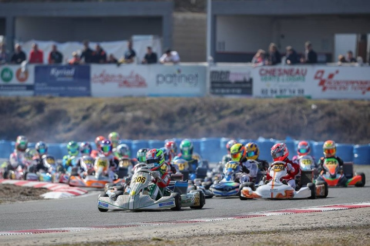 The 2018 IAME Euro Series Kicks Off With Spectacular First Race in Salbris!