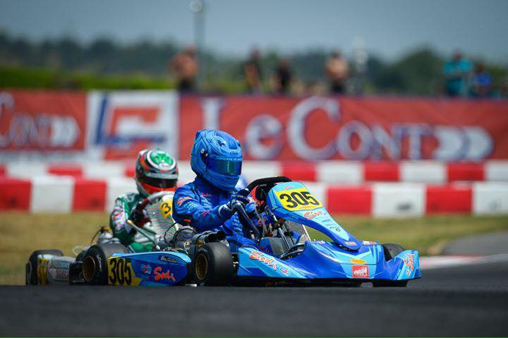 Sodikart, European KZ2 Champion with Renaudin and CPB Sport