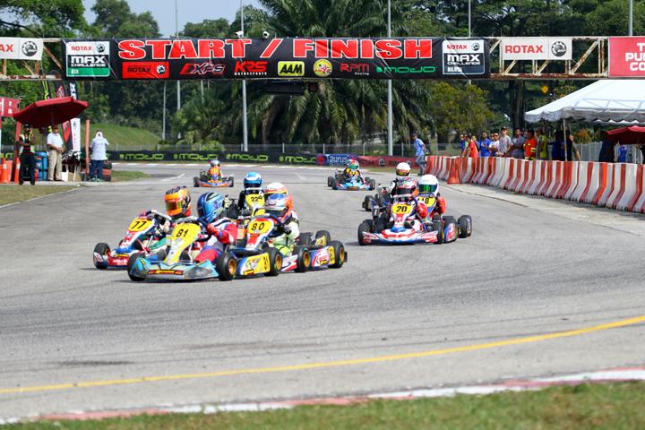 Rotax Max Asia Challenge, Elite Speedway Circuit - Round 5, August 7 2016