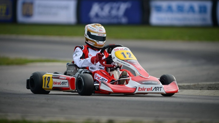 A prestigious podium for Birel ART at the World Championship