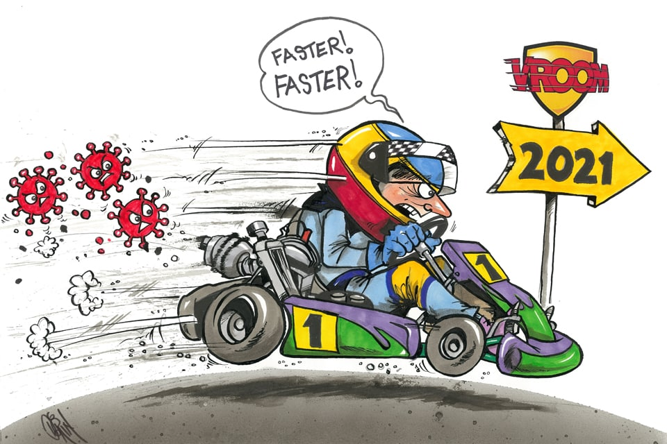 Happy New Year from Vroom!