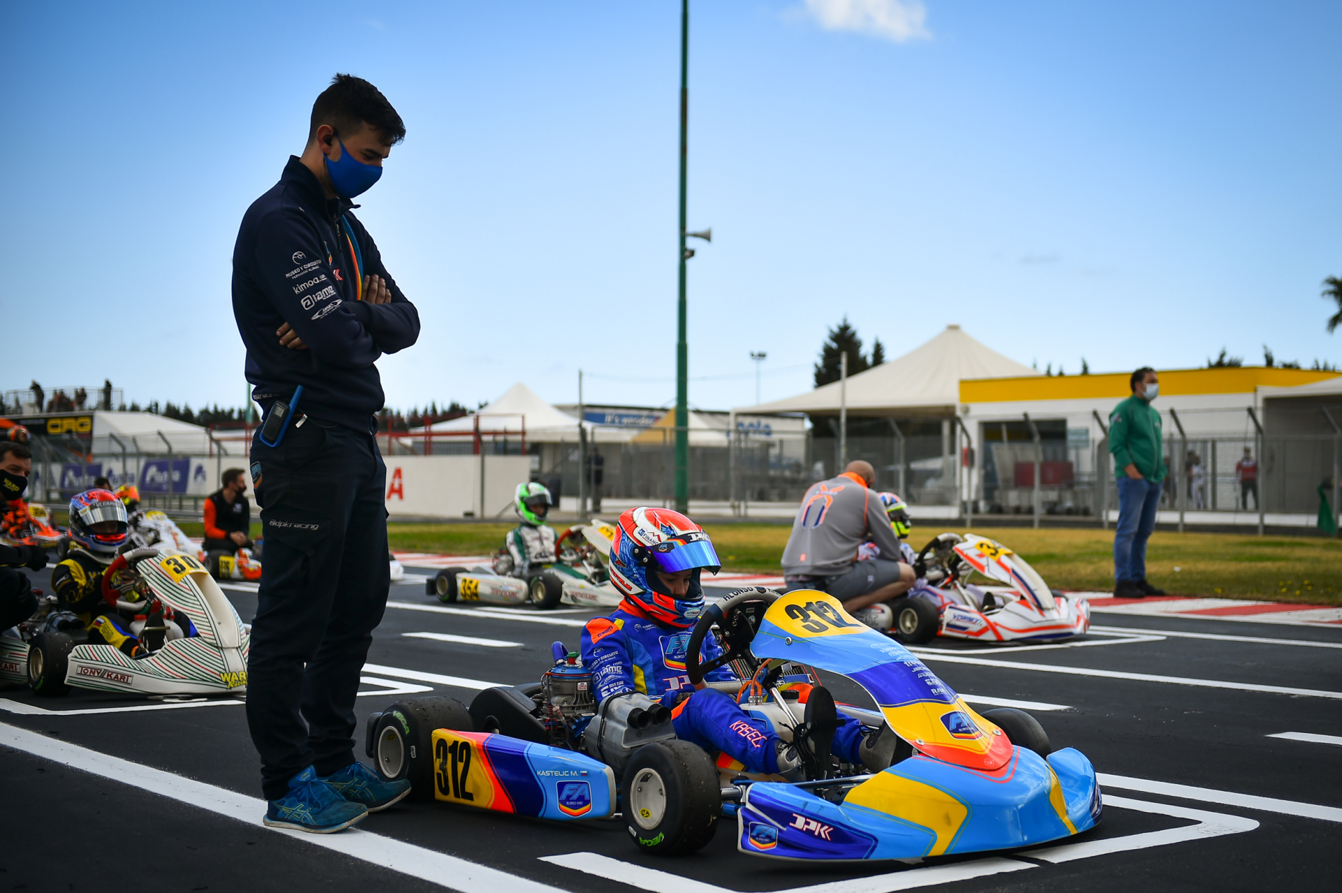 Mark Kastelic will be at Sarno circuit this weekend for another WSK race