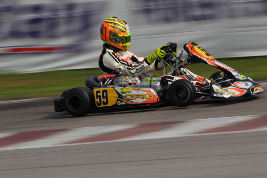 CRG ready for Sarno's final sprint in the WSK Super Master