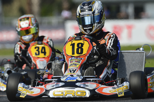 Heading to Genk for the first round of the European KZ and KZ2 Championships