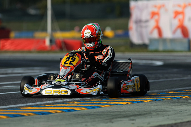 De Conto, Fore' and Federer charging at the WSK