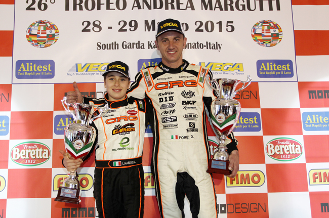 Great victory for Foré at the Margutti Trophy