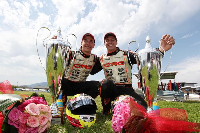 Crg & Maxter stunning double podium in KZ2 at the European