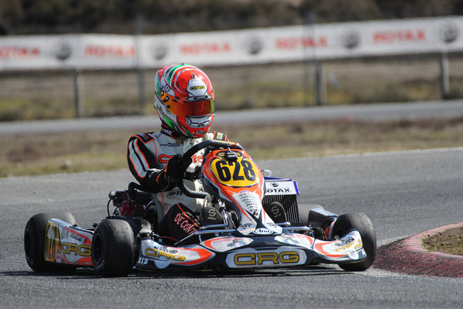 Crg in Castelletto for the Rotax Euro Challenge