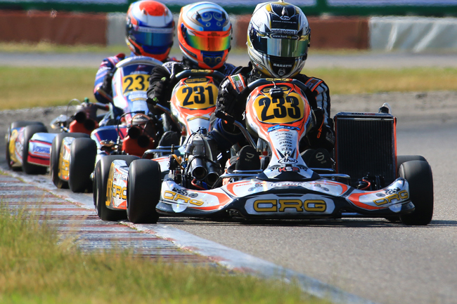Crg drivers protagonists at the German Championship in Genk