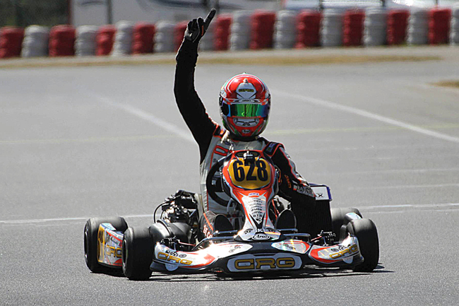 Great results in Euro Rotax. Bitter finale in the European KF