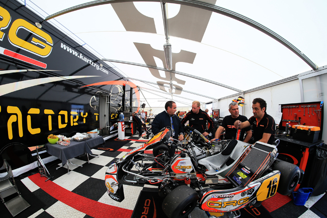 Crg in Le Mans for the World Championship