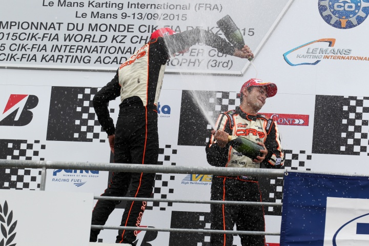 Great result for Crg  at the 2015 KZ World Championship