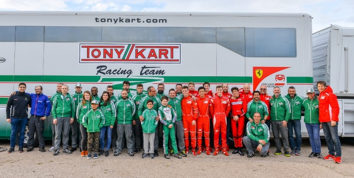 Campus in Muro Leccese for the racing team and FDA Drivers