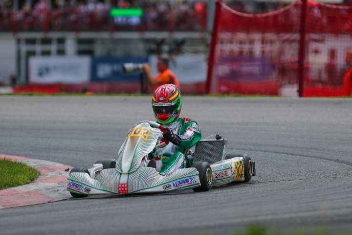 Vidales in top5 on the occasion of the European Championship for OK-OKJ in Germany