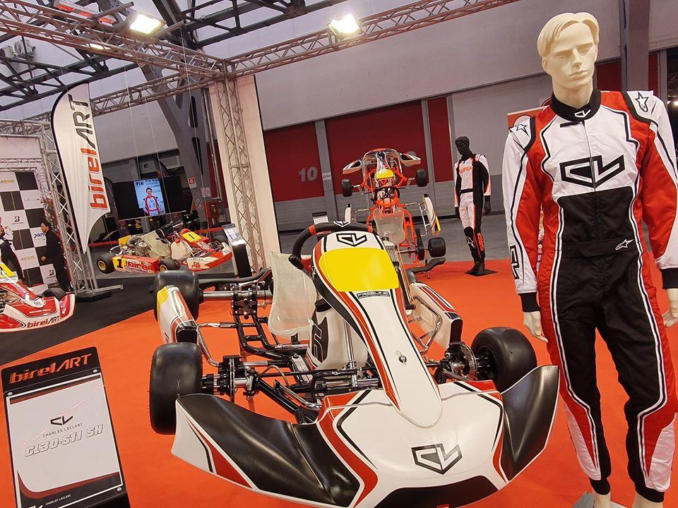 Charles Leclerc Karting chooses Lennox Racing