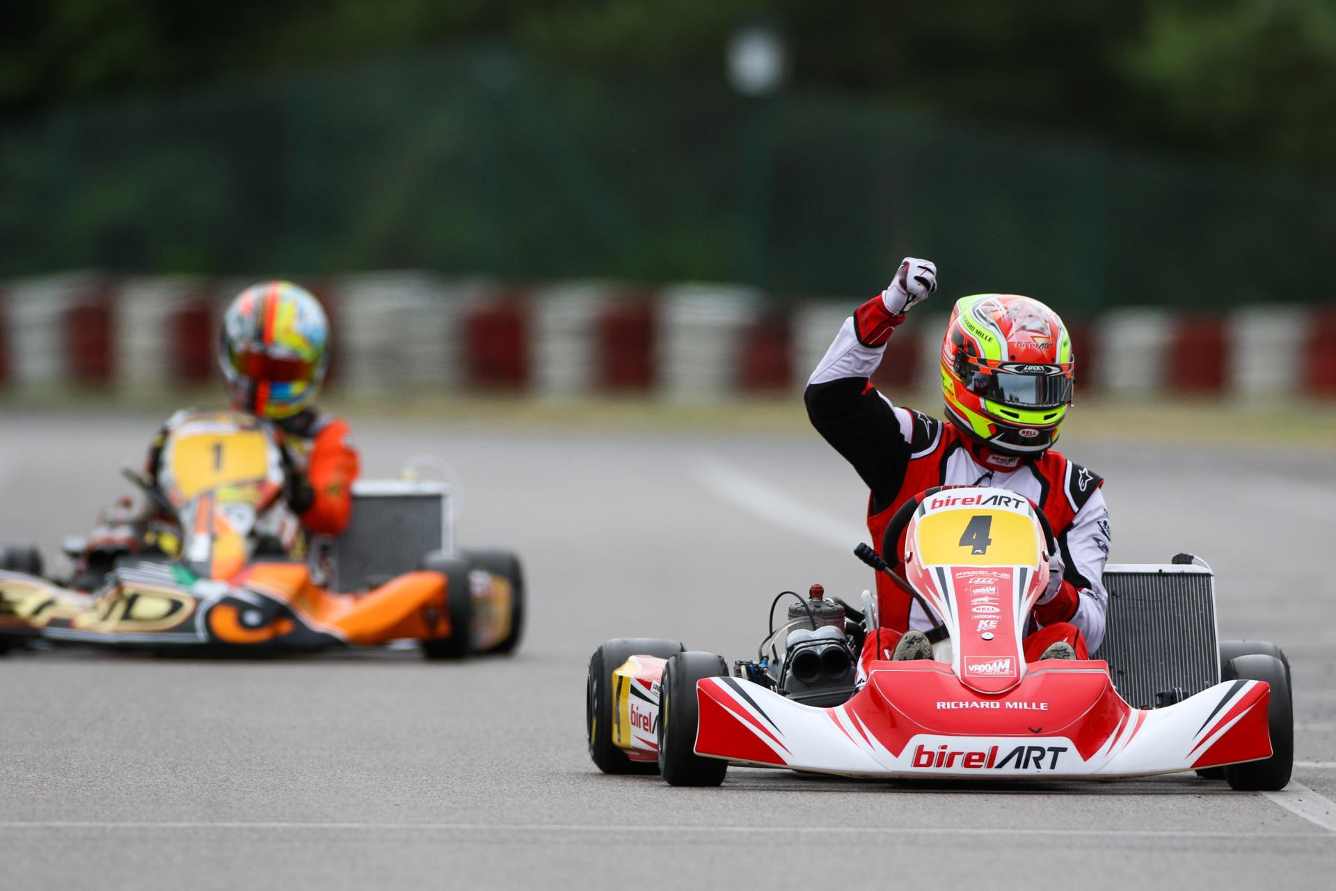 FIA Karting European Championship, Wackersdorf - Victories for Longhi (KZ) and Van Walstijn (KZ2)