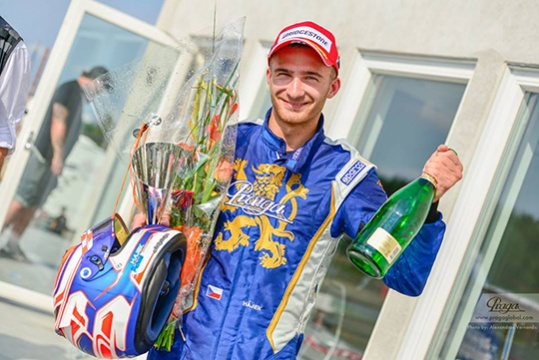 Praga Kart Racing reached podium in Sweden