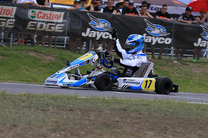 Australian Karting Championship, Newcastle Kart Racing Club - Round 1, February 12 2017
