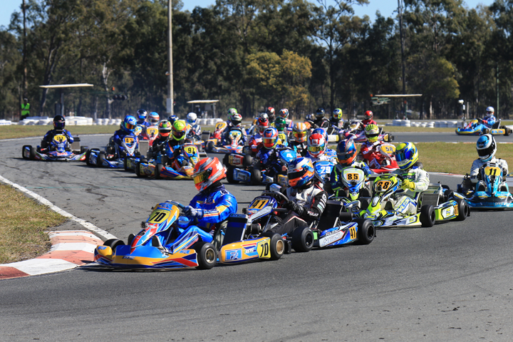 Karting stars headed for the Gold Coast this weekend