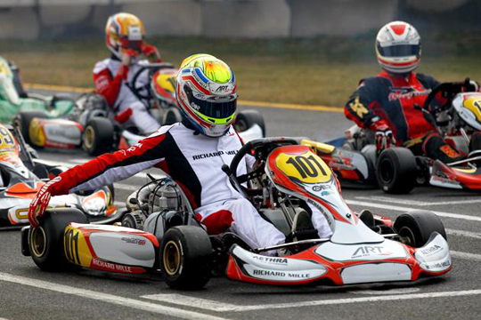 ART Grand Prix to take the Winter Cup by storm
