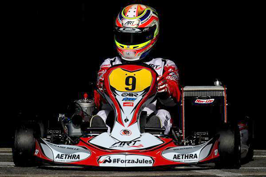 ART Grand Prix racing for Jules at World Champs