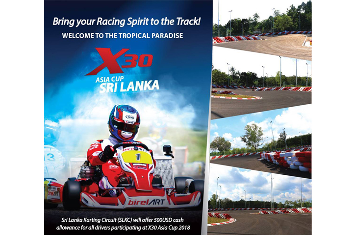 X30 lands in Sri Lanka