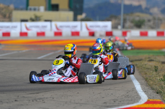 Barnicoat and Norris impress in Alcaniz