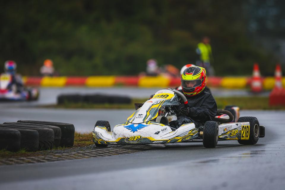 Braeken Bares His Claws At Berghem Kart News