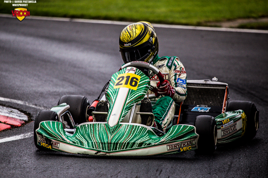 Beckmann on pole for KFJ prefinal at PFI