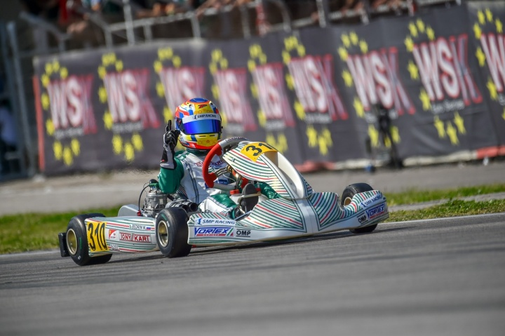 Double victory for the team on the first round of the WSK Euro Series