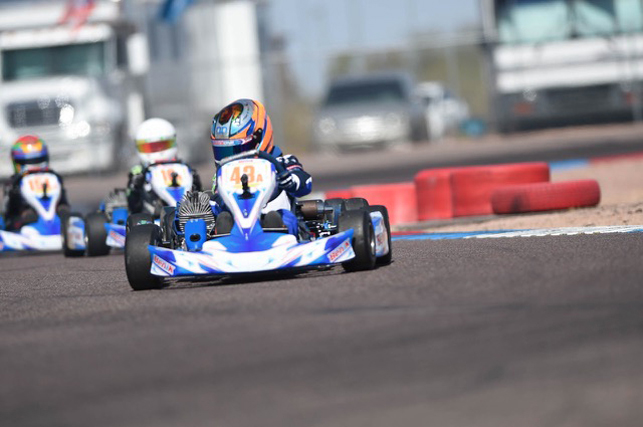 Benik Kart has sensational weekend at opening round of Superkarts! USA Pro Tour