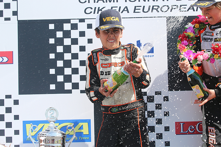 CRG starting the European Championship on a high