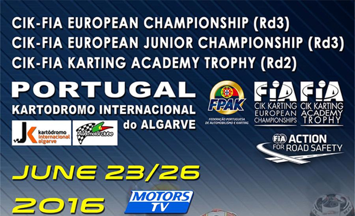Decisive races in the three categories competing at Portimao
