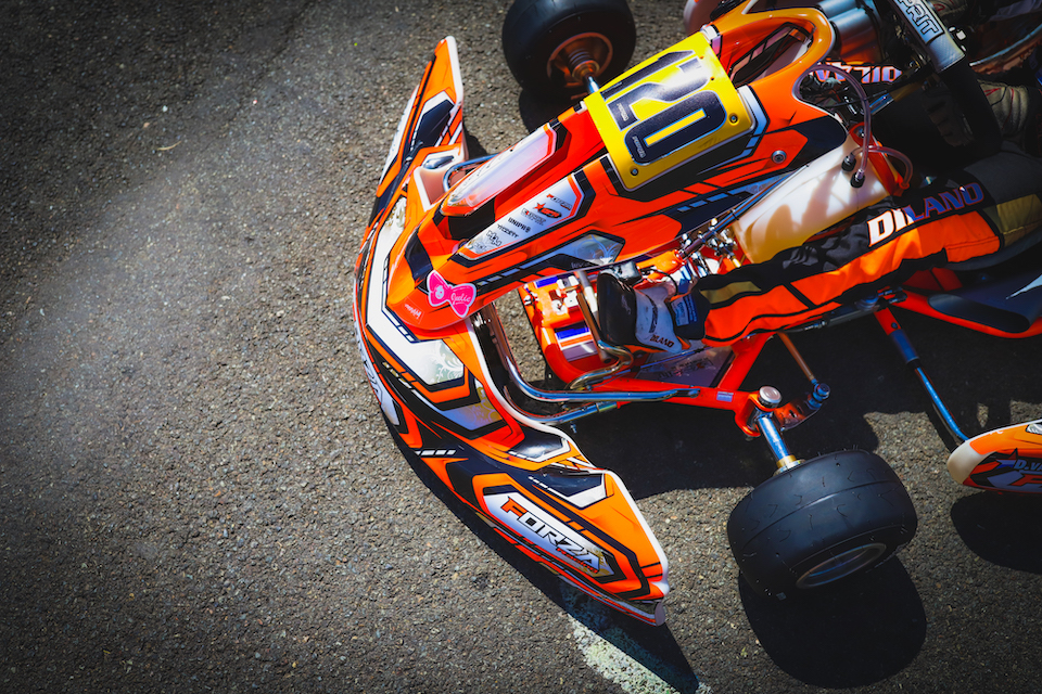 Behind the scenes: karting liveries
