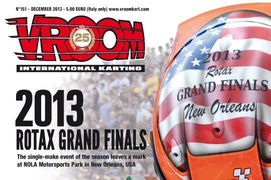 VROOM n.151 Grand event signed by Rotax