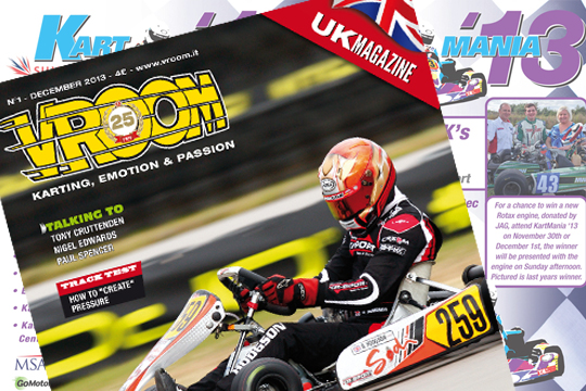 VROOM UK to be launched at Kartmania this weekend!