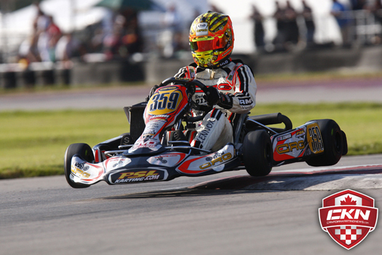CRG Racing Team at Rotax Max Euro Challenge 2014