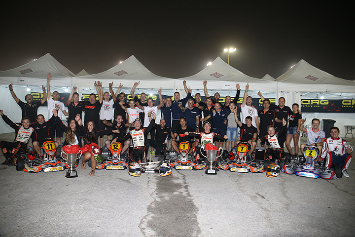 CRG World Champion with Hiltbrand in Bahrain