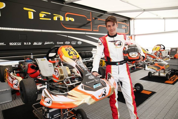Flavio Camponeschi debuts with a new line by CRG dedicated to Jules Bianchi