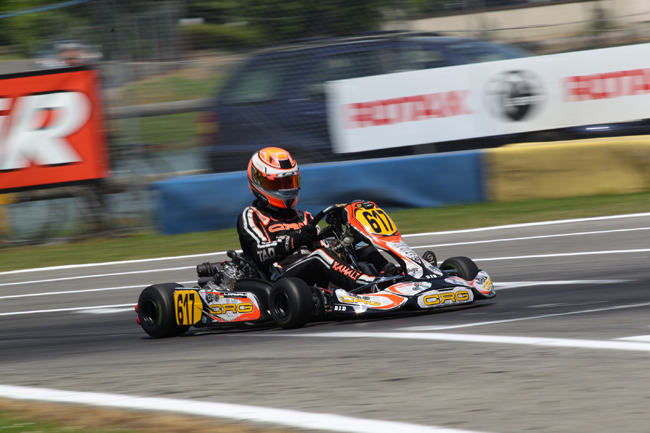 Crg at the opener of Rotax in Campillos for the Winter Cup