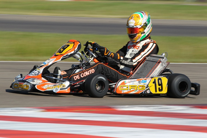 CIK-FIA Int. KZ World Championship, Kristianstad – Prefinal